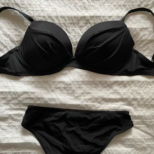 Black Victorious Secret Bikini Set
